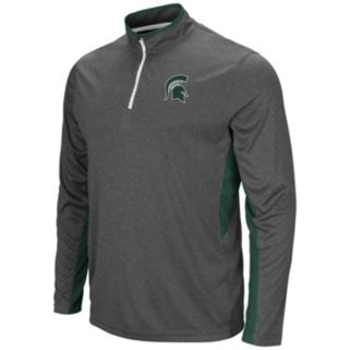 Men's Campus Heritage Michigan State Spartans Atlas Quarter-Zip Windshirt