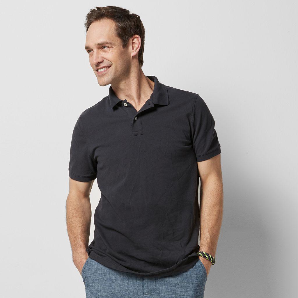 Men's SONOMA Goods for Life™ Flexwear Classic-Fit Pique Polo