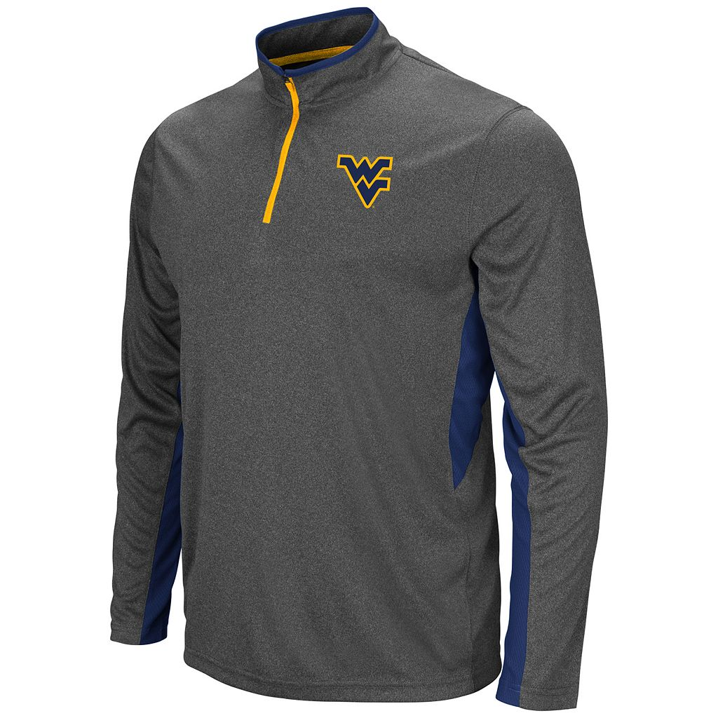 Men's Campus Heritage West Virginia Mountaineers Atlas Quarter-Zip Windshirt