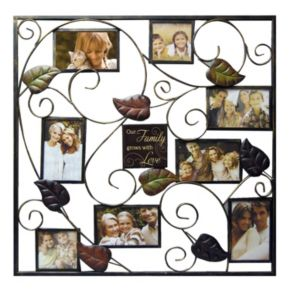 """New View """"Family"""" 8-Opening Collage Frame"""