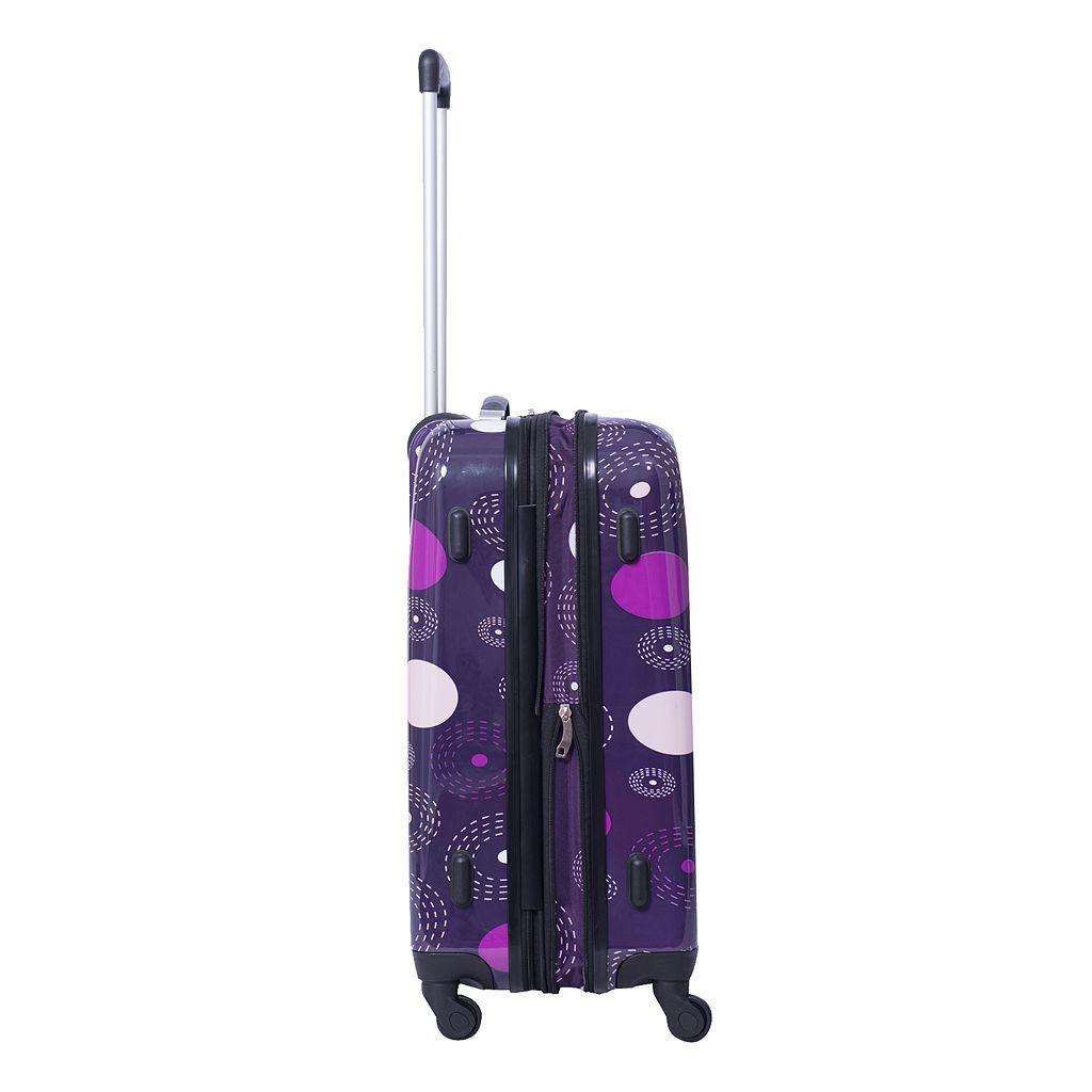 American Flyer Fireworks 3-Piece Hardside Spinner Luggage Set
