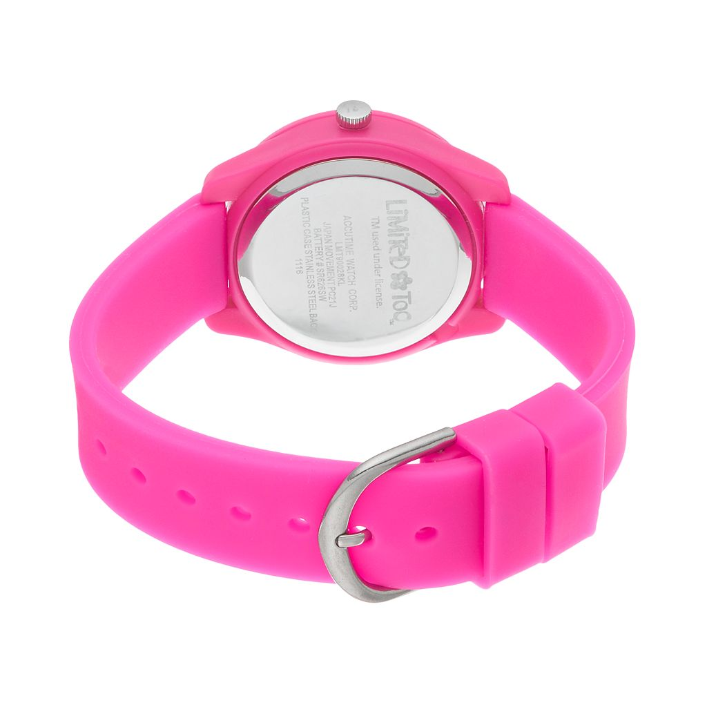 Limited Too Kids' Winking Stuck Out Tongue Emoji Watch