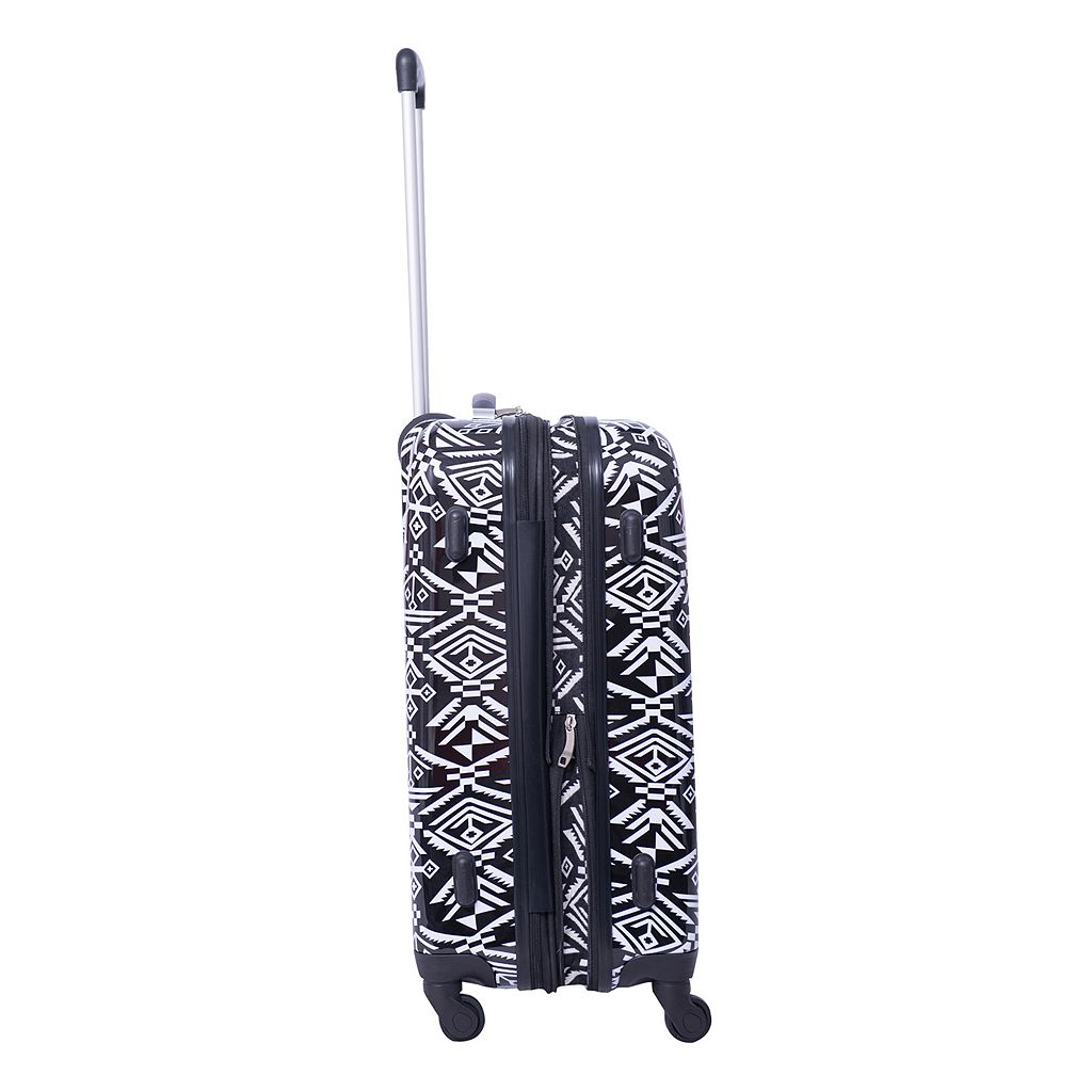 American Flyer Aztec 3-Piece Hardside Spinner Luggage Set