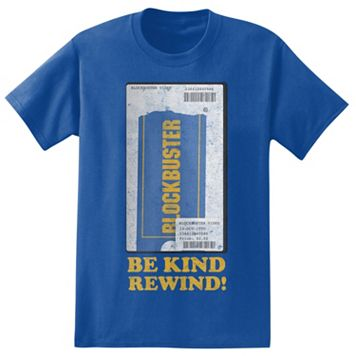 Big & Tall Blockbuster VHS Tee