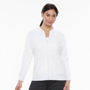 Plus Size FILA SPORT® Zip Front Jacket