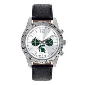 Men's Game Time Michigan State Spartans Letterman Watch