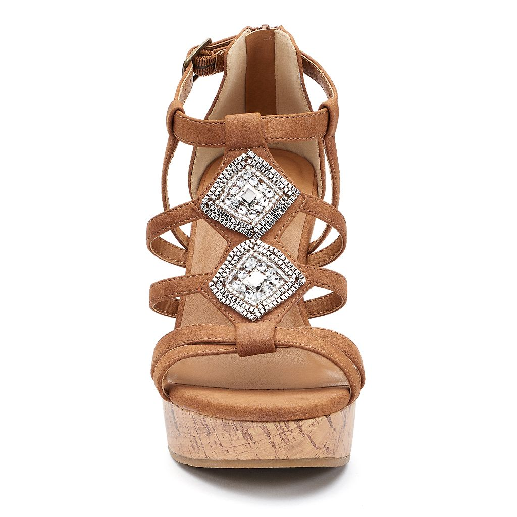 SO® Cadet Women's Wedge Sandals