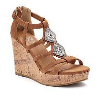 SO® Cadet Women's Wedge Sandals