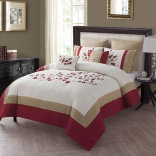 VCNY 7-piece Cherry Blossom Comforter Set