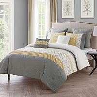 VCNY 7 pc Winston Comforter Set