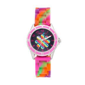 Limited Too Kids' Rainbow Flower Watch