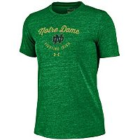 Women's Under Armour Notre Dame Fighting Irish Triblend Tee