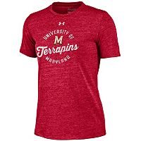 Women's Under Armour Maryland Terrapins Triblend Tee