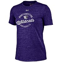 Women's Under Armour Northwestern Wildcats Triblend Tee