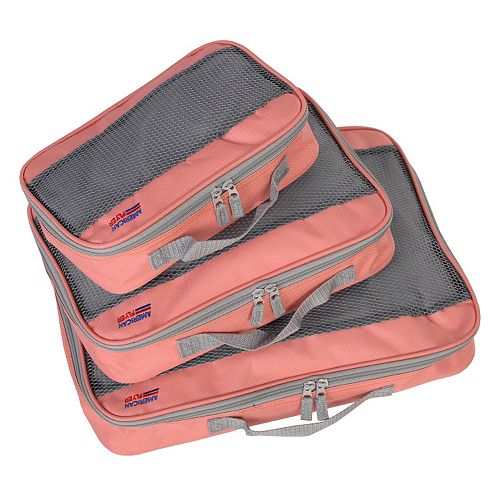 American Flyer Perfect 3-Piece Packing Cube Set