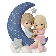 Precious Moments Crescent Moon Couple Figurine