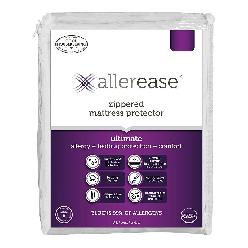 022415035101 Upc Allerease Ultimate Mattress Protector White Twin Upc Lookup