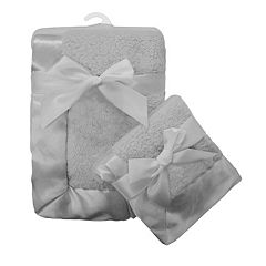 TL Care 2-pk. Sherpa Receiving Blanket Set