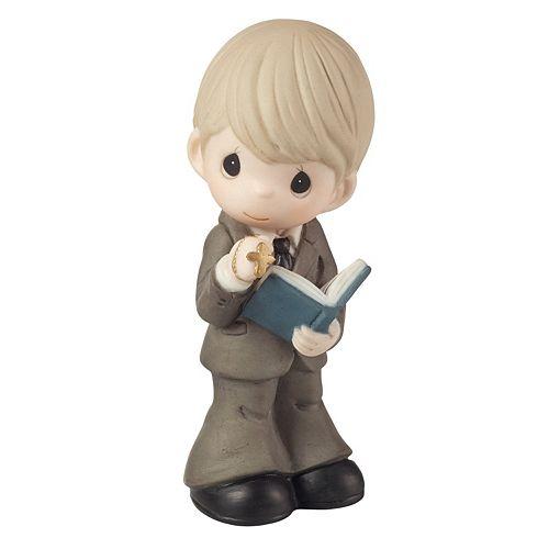 Precious Moments Boy & Bible Figurine