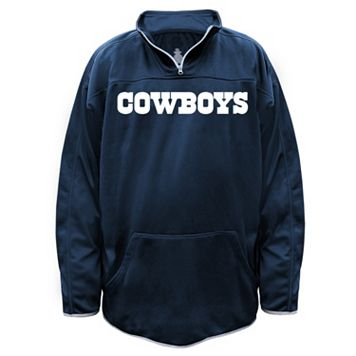 Big & Tall Majestic Dallas Cowboys Birdseye Pullover