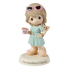 Precious Moments Grandma Striking A Pose Figurine