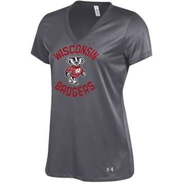 Women's Under Armour Wisconsin Badgers Tech Tee
