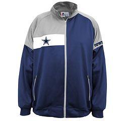 Big & Tall Majestic Dallas Cowboys Fleece Logo Jacket