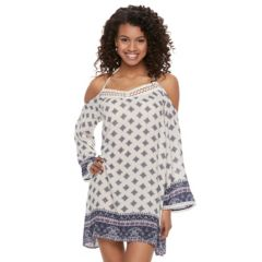 Juniors White Casual Dresses, Clothing | Kohl's
