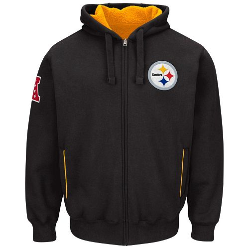 buy online 8a6b3 181ba Men's Pittsburgh Steelers Sherpa Hoodie
