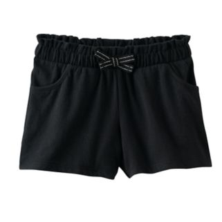 Girls 4-10 Jumping Beans® Cinched Bow Shorts