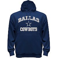 Big & Tall Majestic Dallas Cowboys Heart & Soul Hoodie