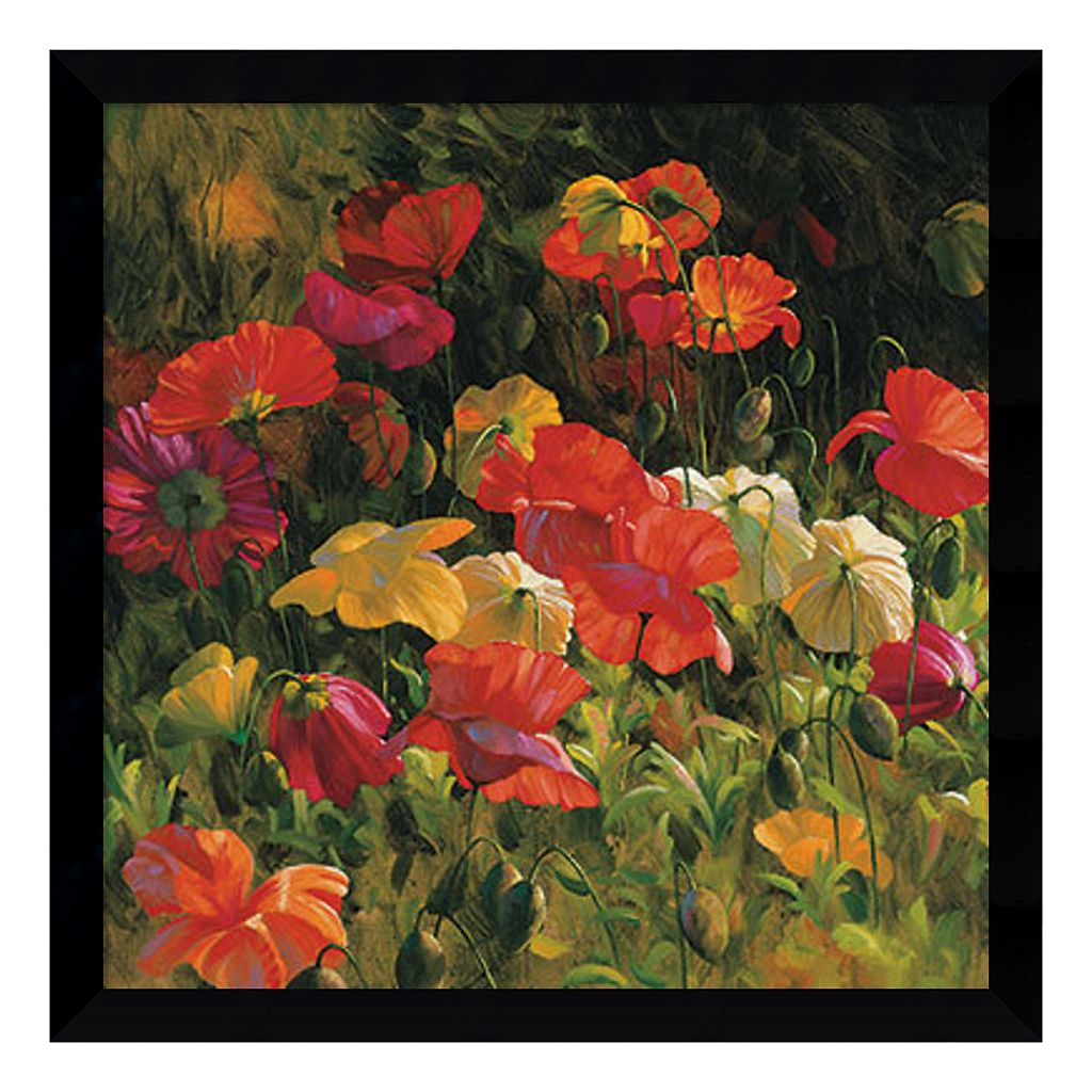 Amanti Art Iceland Poppies Framed Wall Art