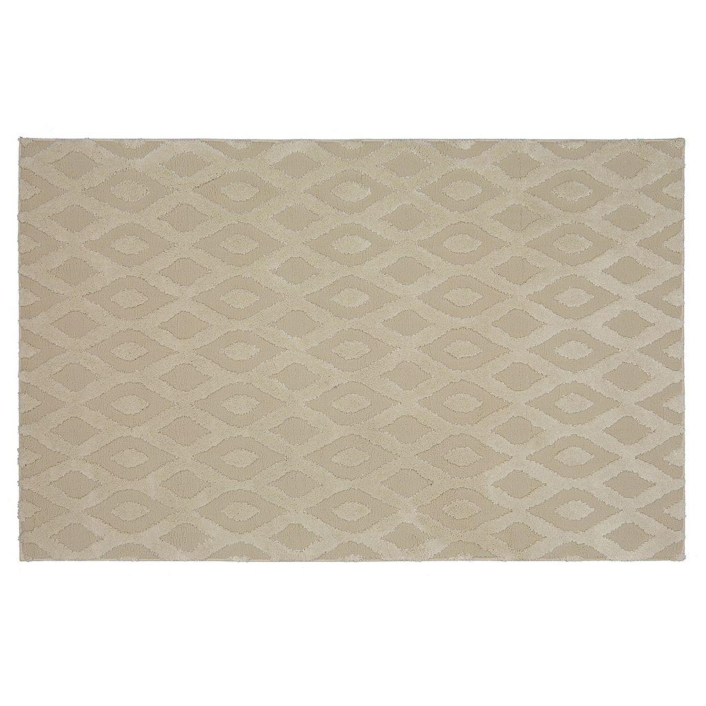 Mohawk® Home Ash Ogee EverStrand Lattice Rug