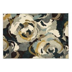 Karastan Studio Serenade Rois SmartStrand Floral Rug