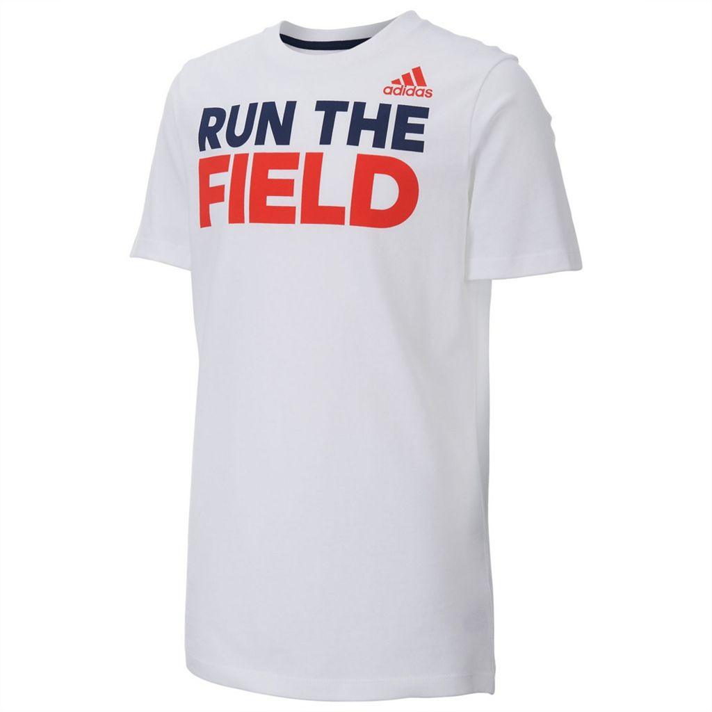 Boys 8-20 adidas Run the Field Tee
