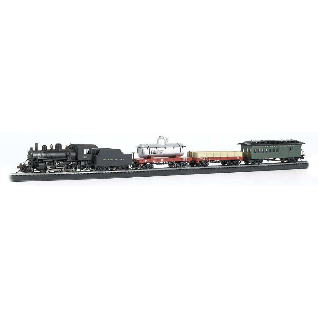Bachmann Trains Blue Star Smart Phone Controlled HO Scale Ready To Run Electric Train Set