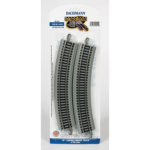 Bachmann Trains Radius Curved Nickel Silver HO Scale E-Z Track