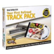 Bachmann Nickel Silver World?s Greatest Hobby First Railroad HO Scale Track Pack