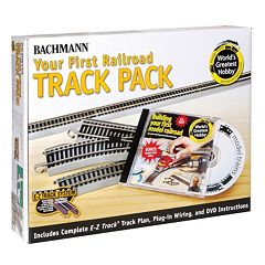 Bachmann Nickel Silver World's Greatest Hobby First Railroad HO Scale Track Pack