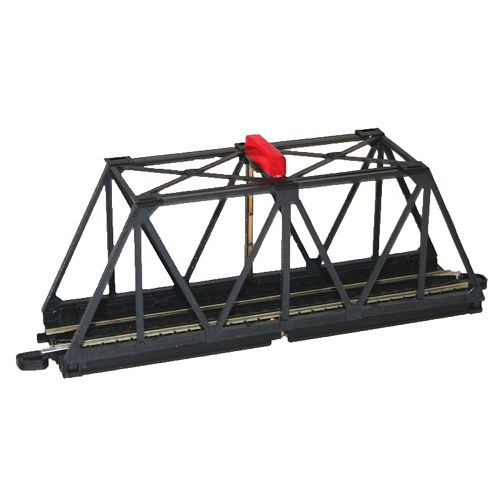 Bachmann Trains E-Z Track HO Scale Truss Bridge With Blinking Light