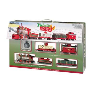 Bachmann Trains Yuletide Special Delivery On 30 Scale Ready-To-Run Electric Train Set