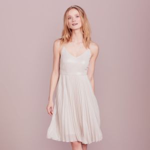 LC Lauren Conrad Dress Up Shop Collection Pleated Metallic Dress - Women's