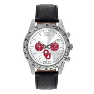 Men's Game Time Oklahoma Sooners Letterman Watch