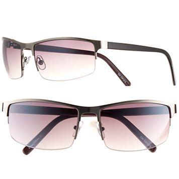 Men's Apt. 9® Semirimless Sunglasses