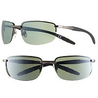 Men's Apt. 9® Rimless Rectangle Sunglasses
