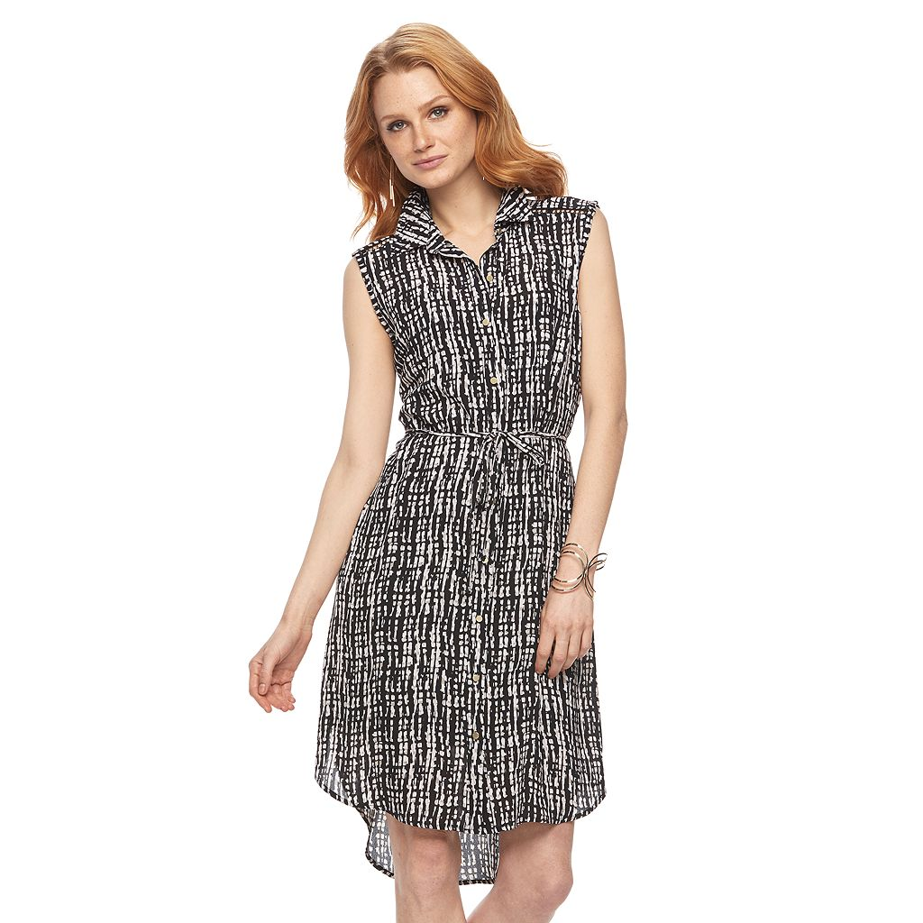 Women's Apt. 9® Midi Shirtdress