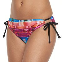 Women's N 2-in-1 Printed Scoop Bikini Bottoms