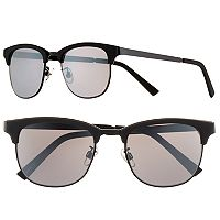 Men's Apt. 9® Matte Black Clubmaster Sunglasses