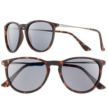 Men's Apt. 9® Round Tortoise Sunglasses