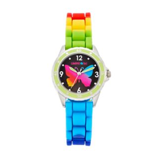 Limited Too Kids' Rainbow Butterfly Watch